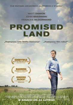 Polski plakat filmu 'Promised Land'