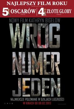 Polski plakat filmu 'Wróg Numer Jeden'