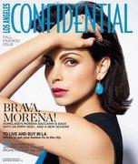Morena Baccarin - LA Confidential Sept 2013