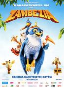 Przód ulotki filmu 'Zambezia'
