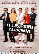 Przód ulotki filmu 'Podejrzani Zakochani'