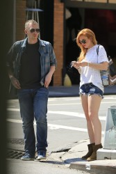Lindsay Lohan - Out in NYC 8/27/13