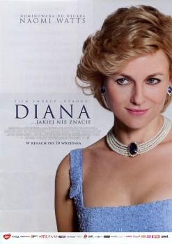 Przód ulotki filmu 'Diana'
