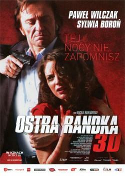 Przód ulotki filmu 'Ostra Randka'