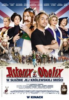 Polski plakat filmu 'Asterix i Obelix: W Służbie Jej Królewskiej Mości'