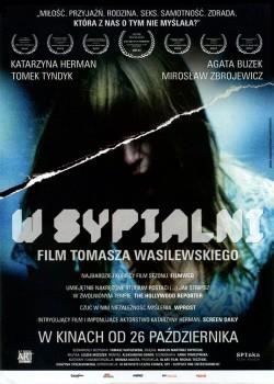 Przód ulotki filmu 'W Sypialni'