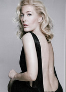 Gillian Anderson, Marie Claire UK, 25th Birthday Issue, October 2013