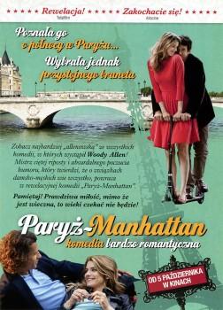 Tył ulotki filmu 'Paryż - Manhattan'