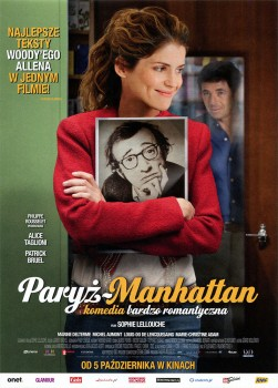 Przód ulotki filmu 'Paryż - Manhattan'