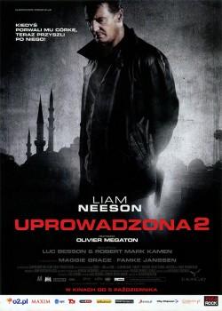 Przód ulotki filmu 'Uprowadzona 2'