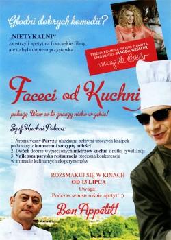 Tył ulotki filmu 'Faceci Od Kuchni'
