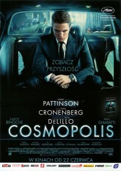 Przód ulotki filmu 'Cosmopolis'