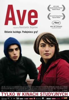 Polski plakat filmu 'Ave'