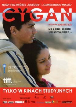 Przód ulotki filmu 'Cygan'