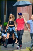 Behati Prinsloo - Out in NYC 9/2/13