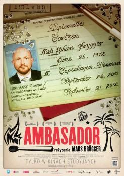 Polski plakat filmu 'Ambasador'