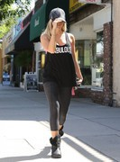 Ashley Tisdale - Leaving yoga class in LA 9/6/13