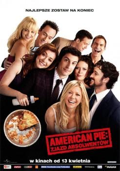 Przód ulotki filmu 'American Pie: Zjazd Absolwentów'
