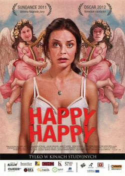 Przód ulotki filmu 'Happy, Happy'