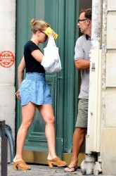 Scarlett Johansson - out in Paris 9/8/13