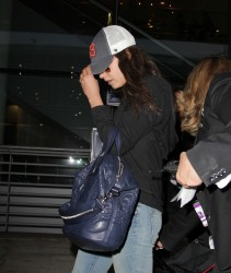 Mila Kunis - Arriving in Toronto 9/8/13