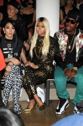 Nicki Minaj - Jeremy Scott fashion show in NYC 9/11/13