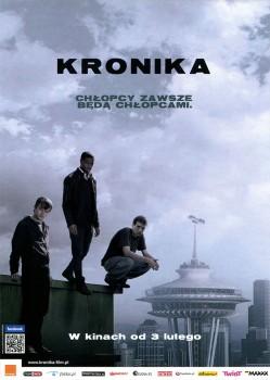 Przód ulotki filmu 'Kronika'