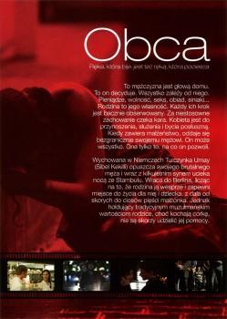 Tył ulotki filmu 'Obca'
