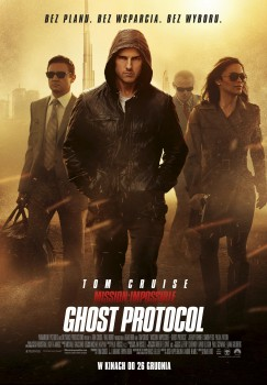 Polski plakat filmu 'Mission: Impossible - Ghost Protocol'