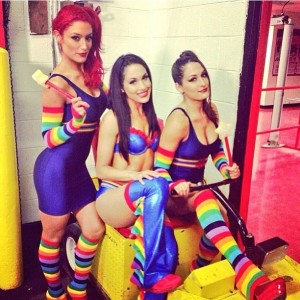 Eva Marie & The Bella Twins in a Sexy Instagram Photo