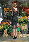 Amber Heard - on the set of 'London Fields' in London 9/15/13
