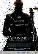 Przód ulotki filmu 'Anonimus'