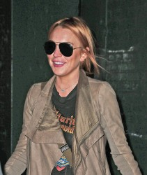 Lindsay Lohan - Leaving a spa in NYC 9/18/13
