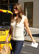 Elizabeth Hurley - out in NYC 9/20/13