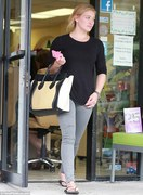Hilary Duff - out in LA 9/20/13