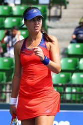 Sorana Cirstea - Toray Pan Pacific Open Day 1 in Tokyo 9/22/13