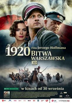Polski plakat filmu '1920 Bitwa Warszawska'