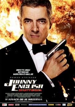 Przód ulotki filmu 'Johnny English Reaktywacja'