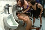 Vicki Chase : Beautiful Latina Defiled in Public Bathroom - Kink/ PublicDisgrace (2013/ HD 720p)