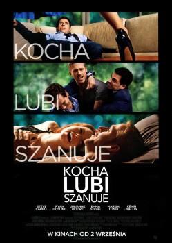 Przód ulotki filmu 'Kocha, Lubi, Szanuje'