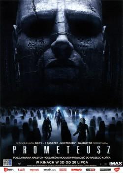 Przód ulotki filmu 'Prometeusz'