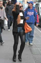 Lindsay Lohan out in NYC 9/25/13