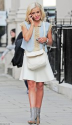 Katherine Jenkins - out in London 9/25/13