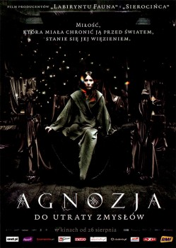 Przód ulotki filmu 'Agnozja'