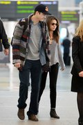 Mila Kunis - at Pearson International Airport in Toronto 9/28/13