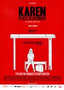 Przód ulotki filmu 'Karen Płacze W Autobusie'
