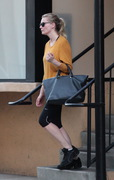 Kirsten Dunst - leaving the gym in Studio City 10/1/13