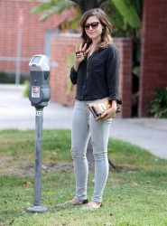 Sophia Bush - out in LA 10/3/13