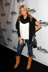 Cassie Scerbo - Knott's Scary Farm HAUNT event in Buena Park 10/3/13