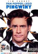 Przód ulotki filmu 'Pan Popper i Jego Pingwiny'